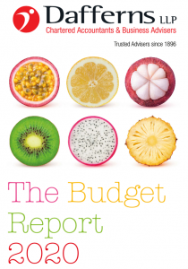 Budget Report 2020 Picture