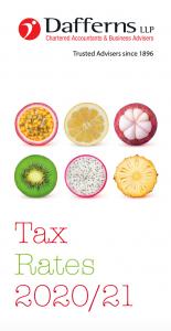 Tax card 2020