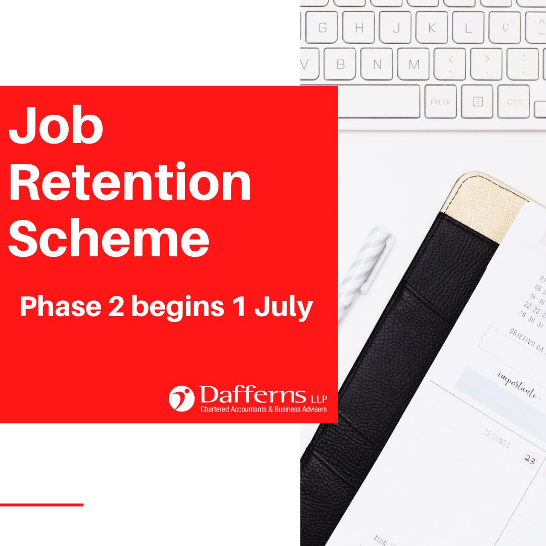 Phase 2 Job Retention Scheme