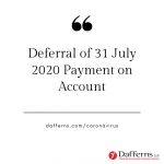 July Deferral
