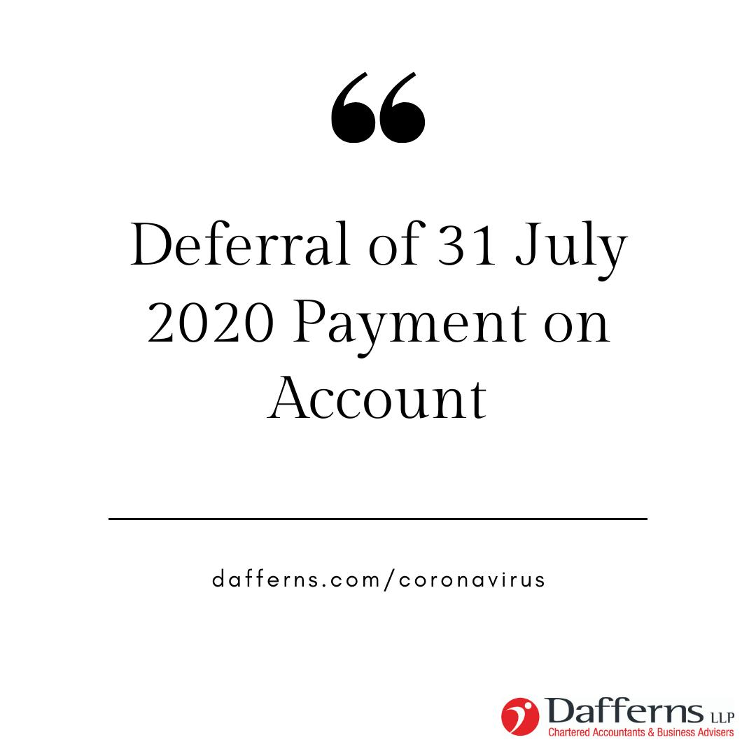 July Deferral