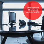 Employment allowance and CJRS