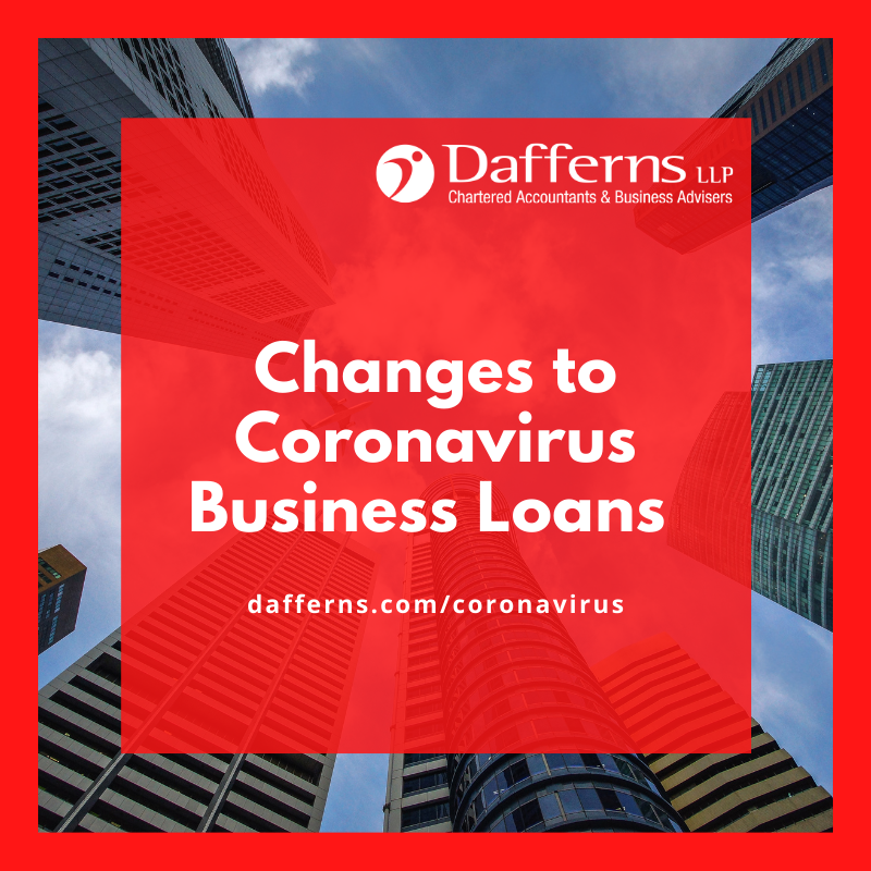 Changes to Business Loans Sept 2020