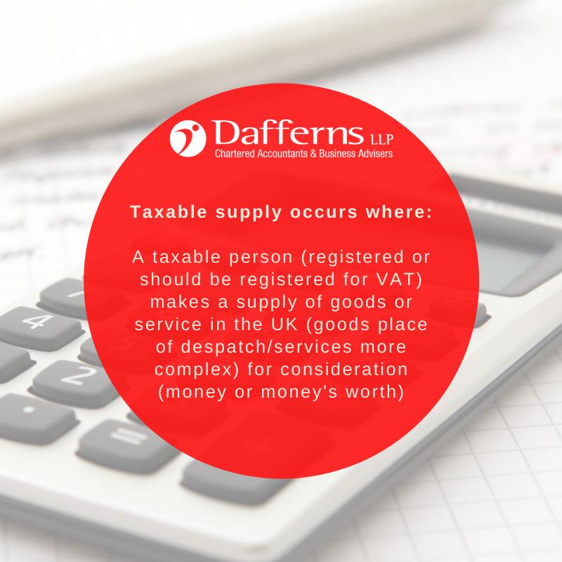 Taxable Supply